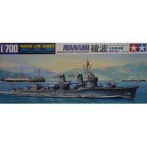 Destroyers Japoneses 2ªguerra Waterline Esc 1/700 Tamiya