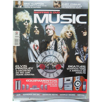 Revista Shopping E Dvd Music Guns Roses Cobain Eric Clapton