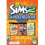 Game Jogo The Sims 2 Grandes Negócios Para Pc - Coleção