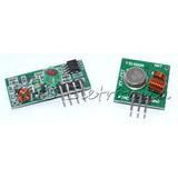 Kit Modulo Rf 315mhz Rx E Tx Transmissor + Receptor Arduino