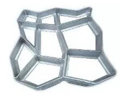 Forma Para Piso Jardim - Uso Concreto - Alumínio