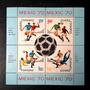 Bloco De Selos Da România Copa Do Mundo 1970 **