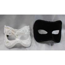 Mascaras Casal Romeu E Julieta Sem Plumas Luxo Gala Festa