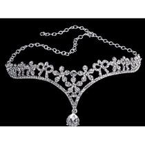 Coroa Tiara Noiva Casamento Testa