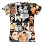 Camiseta  Baby Look Justin Bieber Sublimação Total