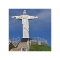 Cristo Redentor,monumento De 8m Altura,frete Grátis!r$70 Mil