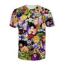 Camisa Dragon Ball - Camiseta Anime Dbz Desenho Goku