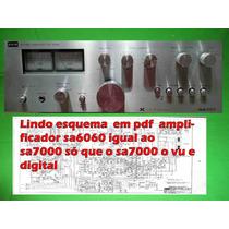 Esquema Amplificador Sa6060 Sa 6060 Sa7000 Sa 7000 Em Pdf