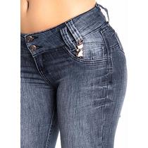 Calça Jeans Feminina Skinny Levanta E Modela O Bumbum