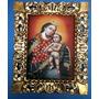 Quadro Cusquenho Nossa Senhora E O Menino Jesus 50 X 60 Cm