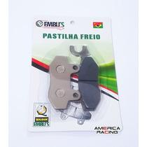 Pastilha Freio Dianteira Twister Cb300 Fazer 250 Ybr Até 08