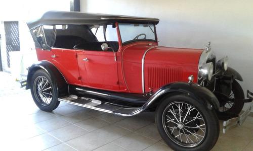 FORD MODELO A 1929 PHAETON 4 PORTAS IMPORTADO - PLACA PRETA-