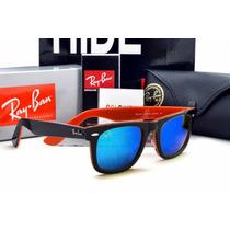 Óculos Rayban Wayfarer 2140 Espelhado Mega Oferta 50% Off