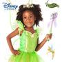 Disney Store Oficial Fantasia Tinker Bell Fada Sininho 4