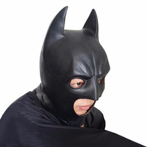 Máscara Do Batman Latex Cosplay Fantasia Carnaval Halloween