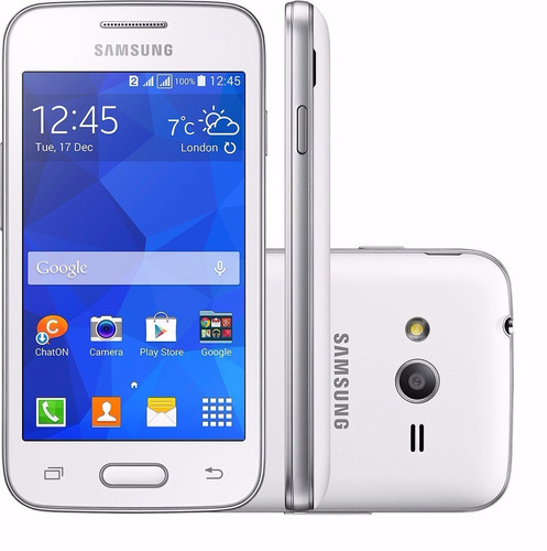 Celular Samsung Galaxy Ace 4 Tela De 4 Preto Seminovo