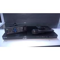 Dvd-player Cce C/ Usb E 1 Microfone Dvd-760usx Preto