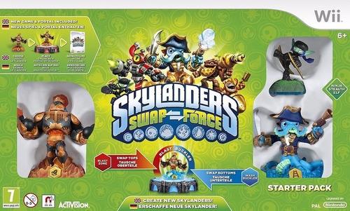 Skylanders Swap Force Wii Starter Pack Nintendo Lacrado