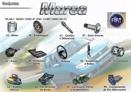 Catálogo De Peças Fiat Marea Todos 1999 2005 Livro Digital