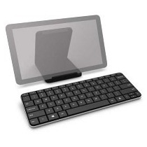 Teclado Microsoft Usb Bluetooth Wedge Mobile Keyboard Preto