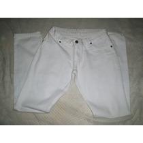 Calça Jeans Damyller Branca Tamanho 38