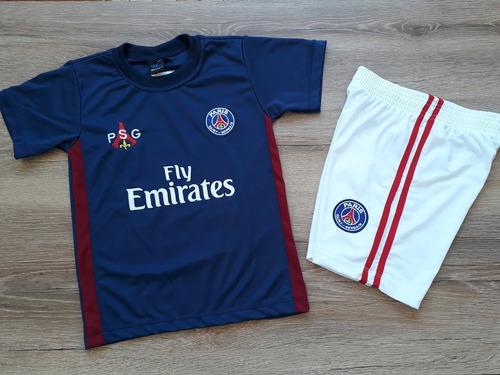 Conjunto Infantil Psg Uniforme Paris Saint German Neymar 72b91c65d326b