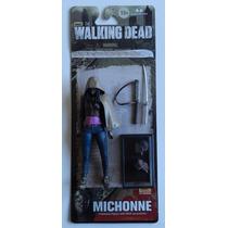 Boneco The Walking Dead Mcfarlane Série 6 Michonne Raridade!