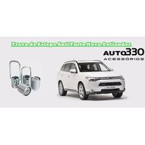 Trava De Estepe Step Anti Furto Nova Outlander - Auto330
