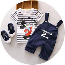 Conjunto Bebê Mickey Mouse Macacão Importado Frete Grátis
