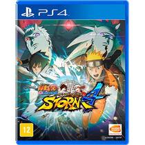 Naruto Shippuden: Ultimate Ninja Storm 4 Mídia Física - Ps4
