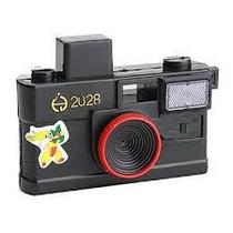 Brinquedo Espirra Água 9x5cm Camera Squirt Pga 10 Leva 11 Un