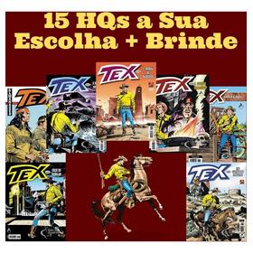 Kit 15 Hqs Gibi Tex Mensal, Coleção Ou Almanaque A Escolher