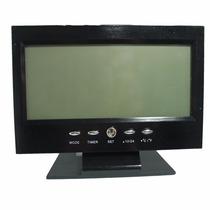Relógio Despertador Digital Alarme Temperatura Ds8082 Com Vo