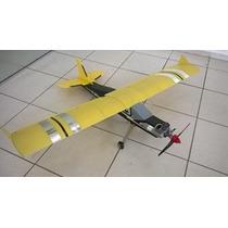 Aeromodelo Pastinha Piper J3 Asp 52 2t Glow Completo + Rádio