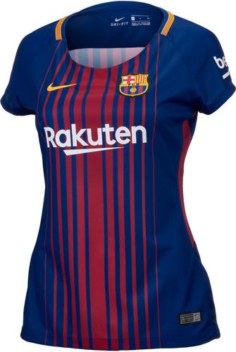 Camisa Barcelona Feminina 2018 - R  139 en Melinterest fb6ba4667964c