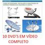 Curso Instalador Antenas Parabólicas E Digital 10 Dvd