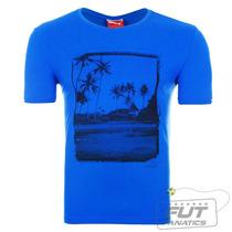 Camiseta Puma Style Coastal Tee Azul - Futfanatics