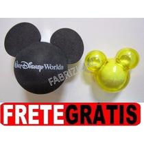 Mickey Enfeite Antena+ Aromatizador Mickey Carro Disney Park