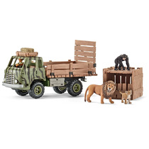 Caminhão Do Brinquedo - Schleich Safari Animal Rescue World