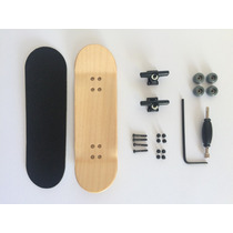 Skate De Dedo- Fingerboard Profissional- Kit Completo