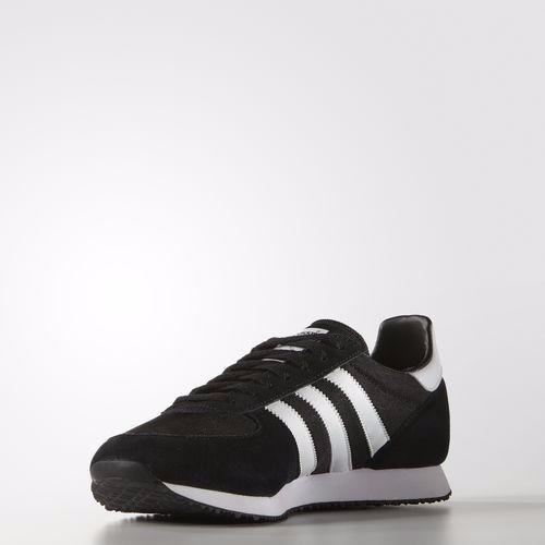 Tênis Adidas Zx Racer - Cor: Preto - Branco