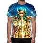 Camisa, Camiseta Cavaleiros Do Zodíaco Kamus De Aquário
