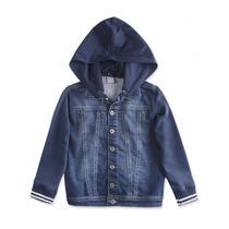 Jaqueta Jeans Infantil Hering Kids Moletom C31mjelus