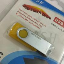 Pen Drive Usb 2.0 Ultra-portátil Amarelo Original Novo