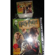 Álbum Harry Potter Donoda Morte 1+ 1caixa 50 Envelope Panini