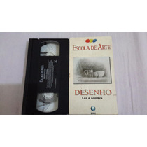 Vhs Colecao Escola De Arte 2 Desenho Editora Globo