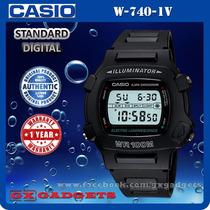 Relógio Casio Masculino Iluminator Sport 100 Metros W-740 --
