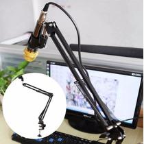 Pedestal Articulado (suporte Para Microfone) De Mesa-phantom