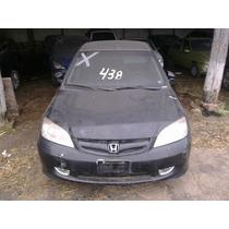 Sucata Honda Civic Ex Automatico 05 Batido Bartolomeu Peças