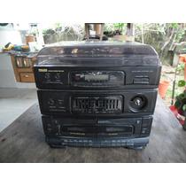 Sucata De Som 3x1 Philco Pmd-200 P/ Peças Ou Conserto.